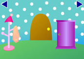 escape of purple door 6 ティンクルのお家
