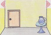色鉛筆の部屋からの脱出1