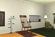 揺り椅子のある部屋